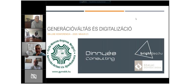 Sikeres volt a Generációváltás és digitalizáció online tájékoztató