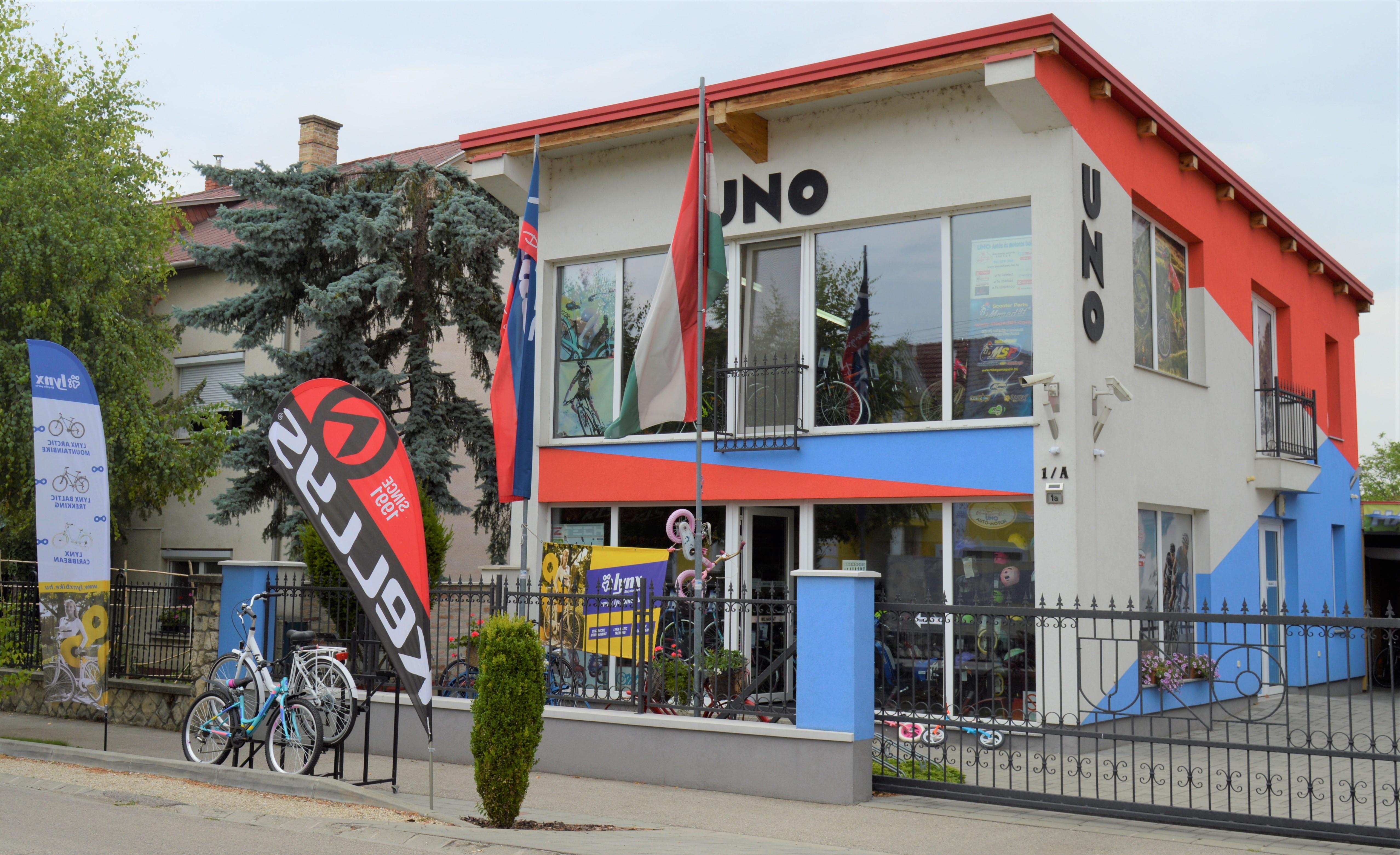 UNO Autó-, Motorosbolt és Kerékpárszaküzlet