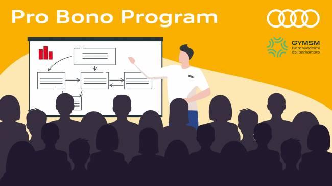 """""""Pro Bono program"""" az Audi Hungaria és a kamara együttműködésében"""