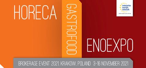 HORECA/ GASTROFOOD/ ENOEXPO 2021 vásár Krakkóban