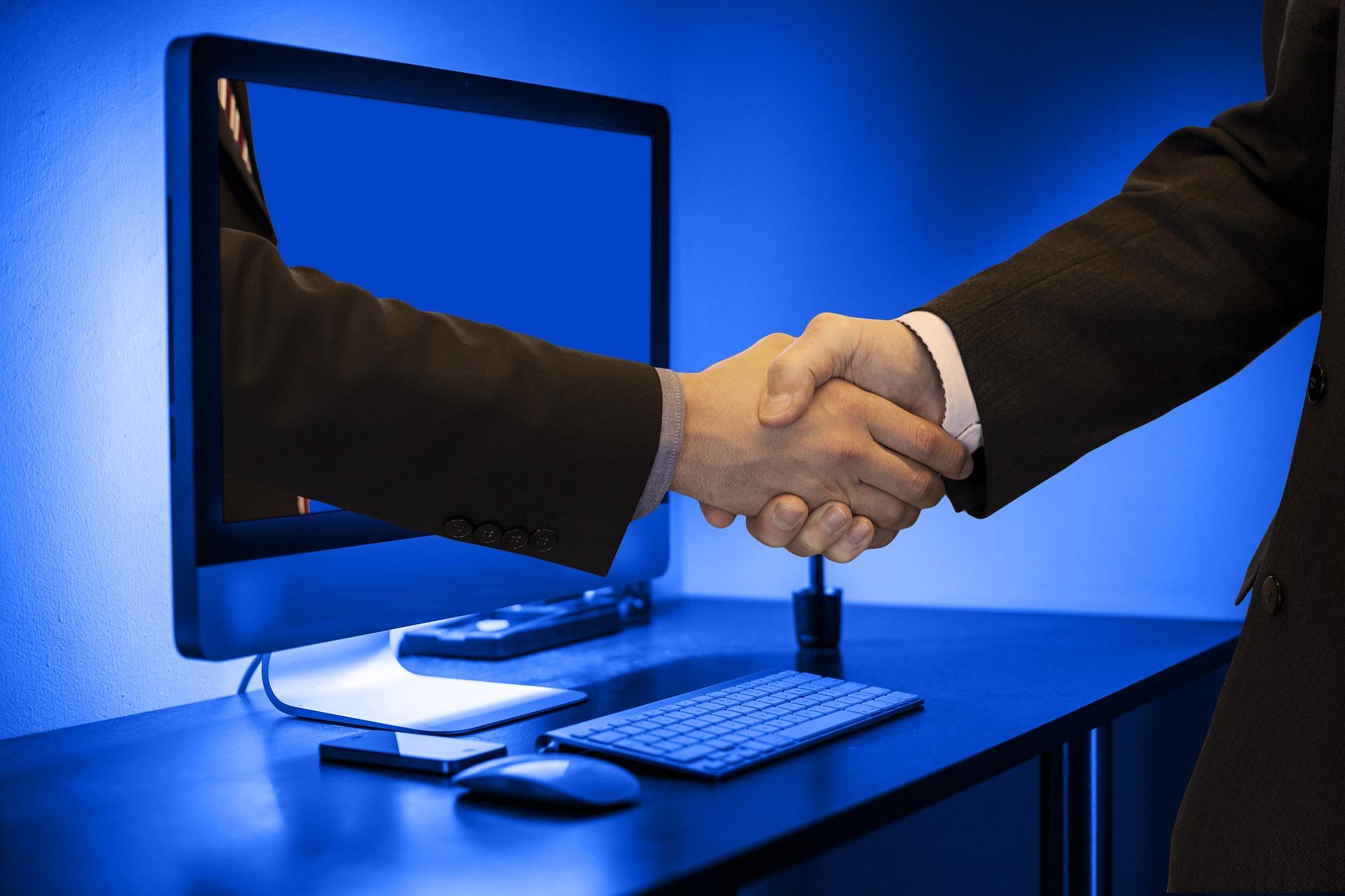 Virtuális üzletember-találkozók