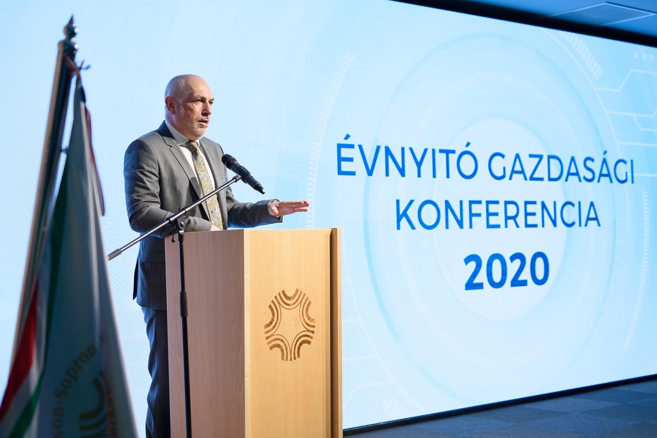 Évnyitó gazdasági konferenciát rendeztünk a kamarában