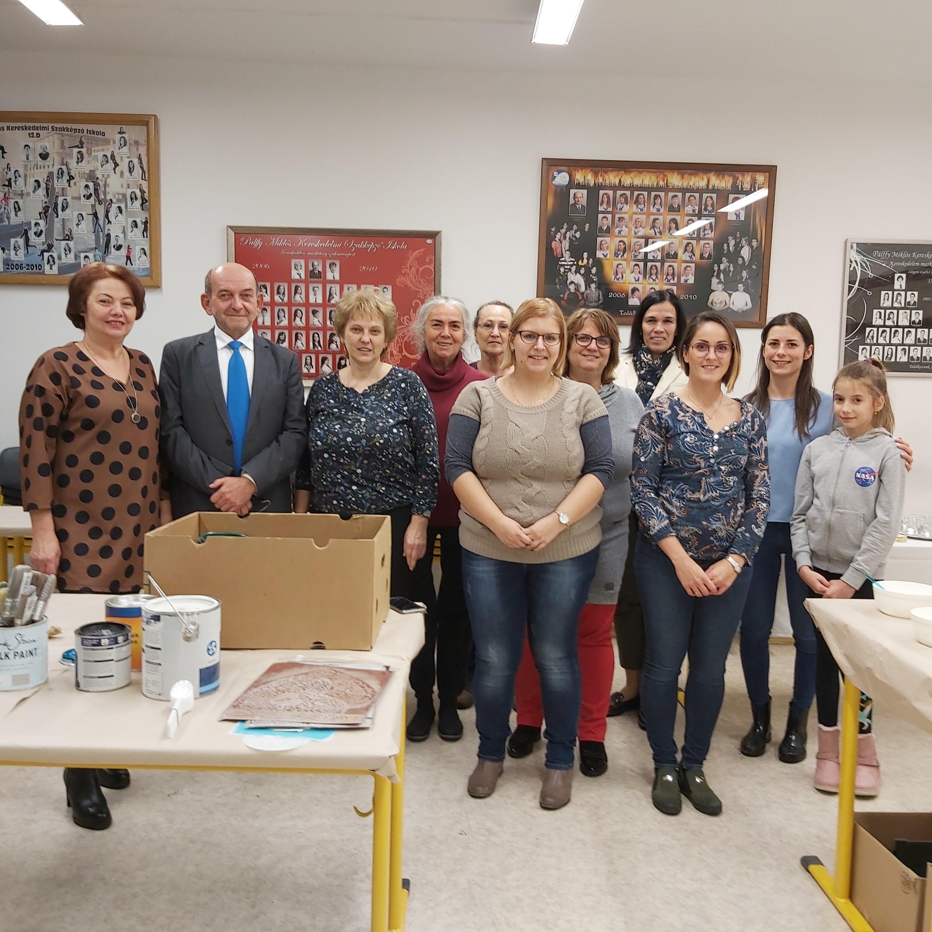 Kreatív nap a győri Pálffy Miklós Kereskedelmi Szakközépiskolában