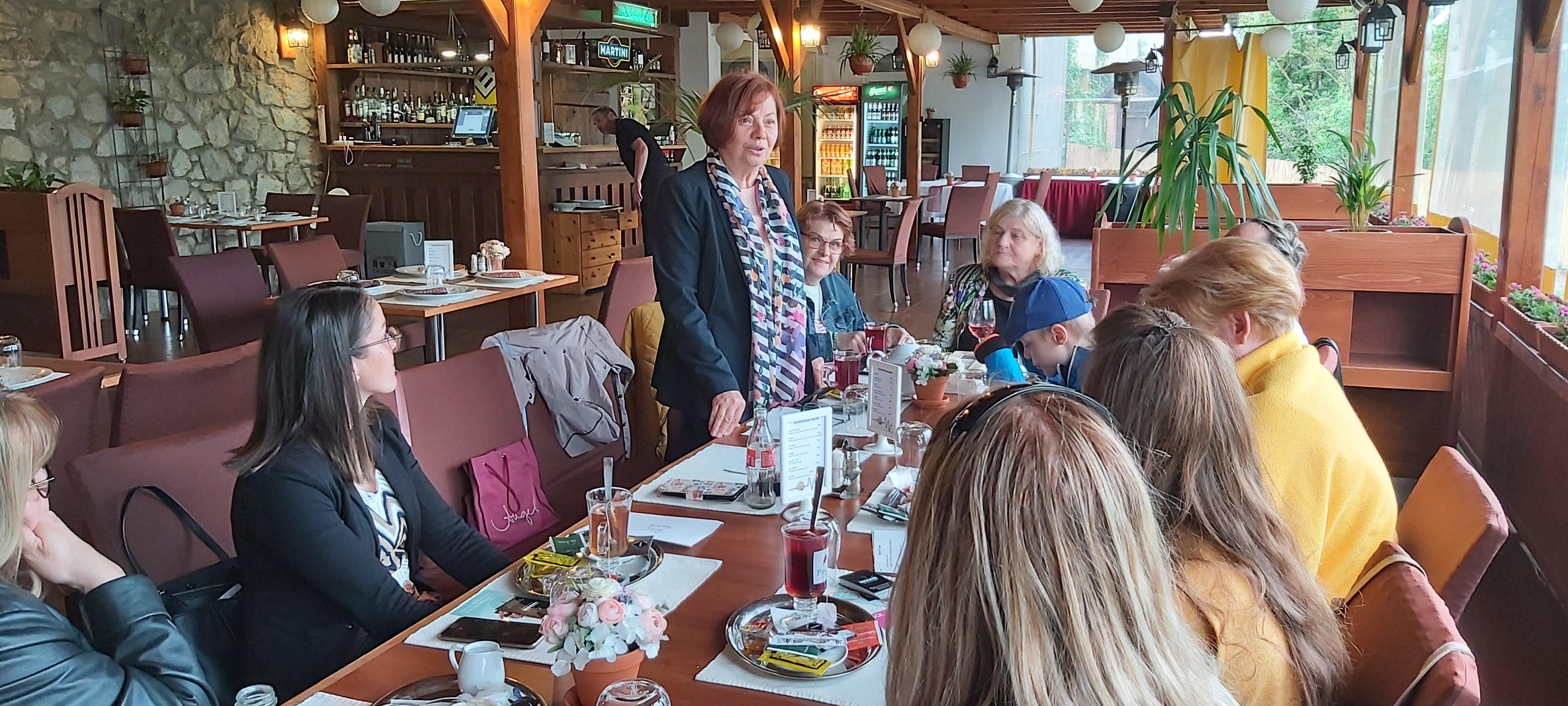 Újra személyesen találkozhattak a Női Vállalkozói Klub tagjai