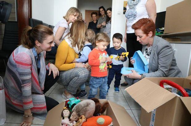 Gyermekeken segítettek a női vállalkozók Győrben