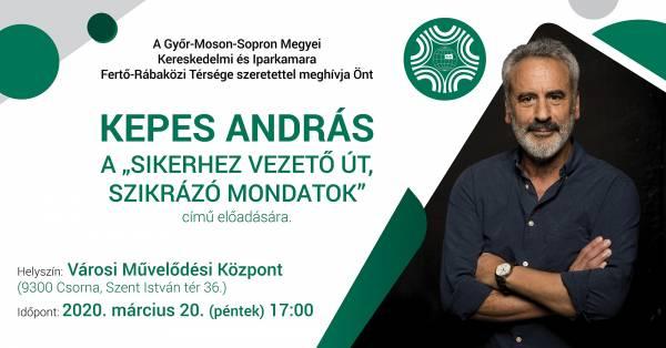 Szakmai előadás Csornán, vendégünk: Kepes András