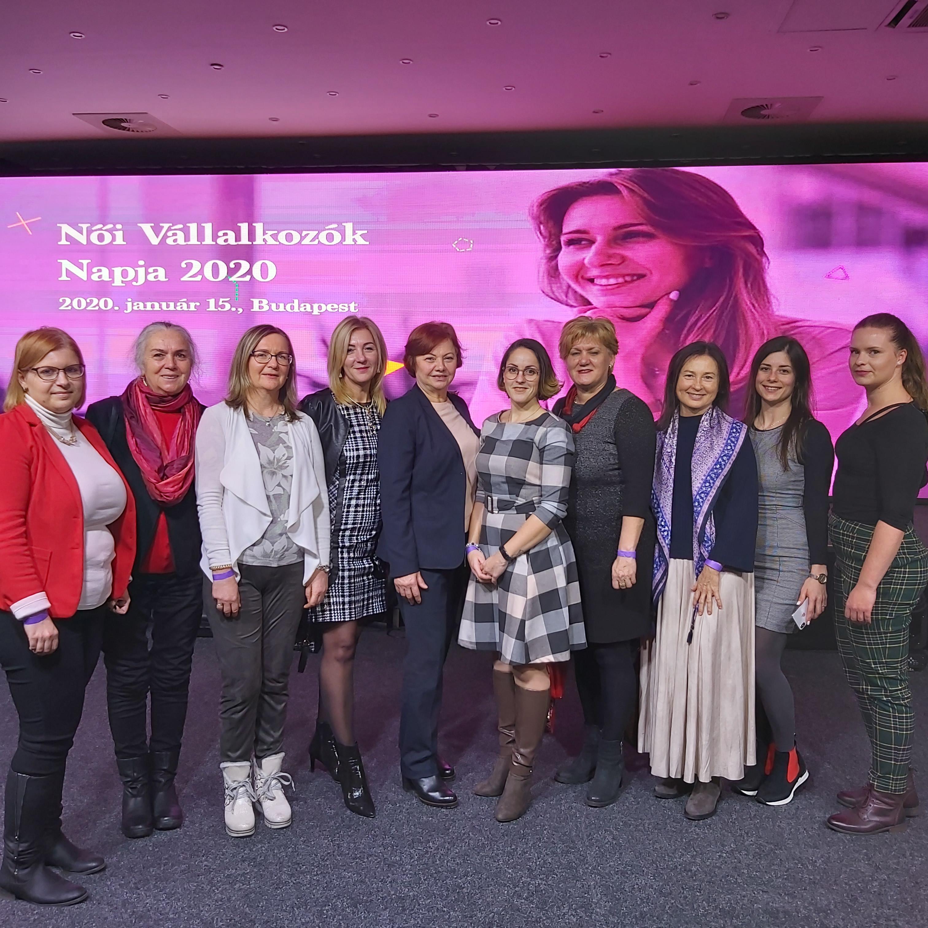 A Női Vállalkozók Napja rendezvényén járt a Női Vállalkozói Klub