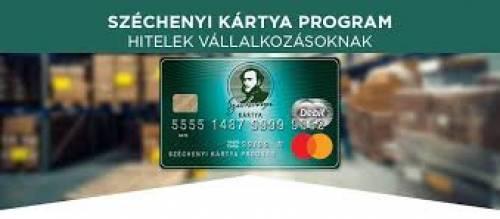 Új Széchenyi Kártya hitelek - már ELÉRHETŐK!
