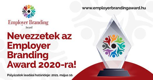 Ismét lehet pályázni az Employer Branding Award-ra