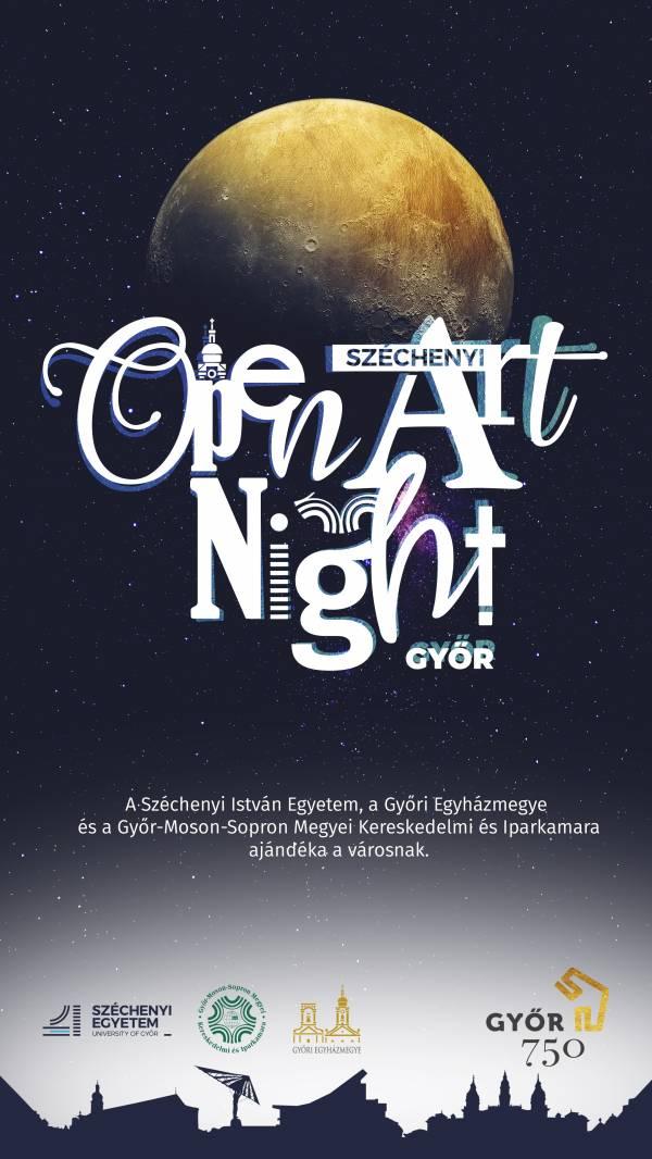 Széchenyi Open Art Night – monumentális művészeti tárlat