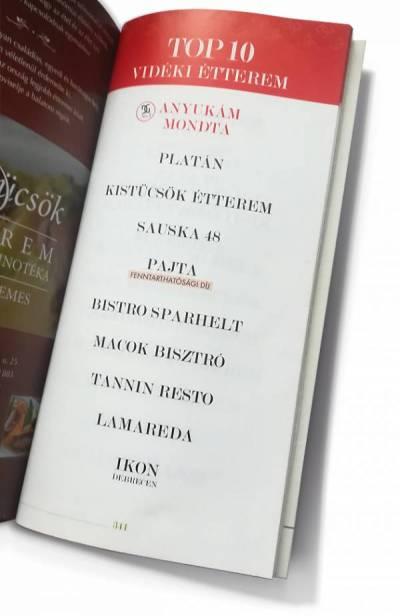 Dining Guide 2020: Vidéki TOP10-ben a győri LAMAREDA étterem