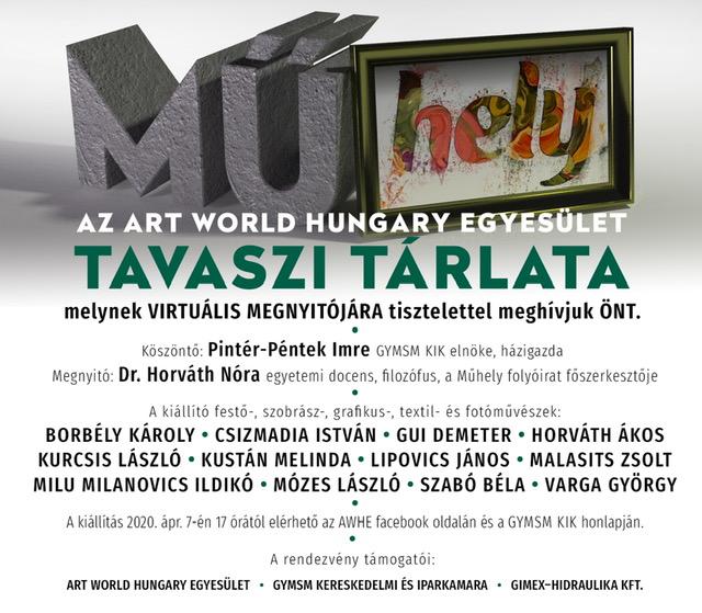 MŰ-HELY - az Art World Hungary Egyesület online kiállítása