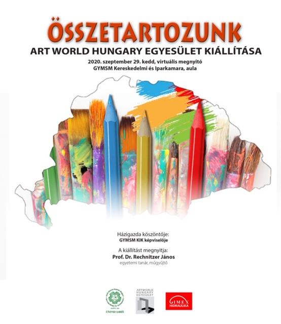 """""""Összetartozunk"""" – megnyílt az Art World Hungary Egyesület virtuális kiállítása"""