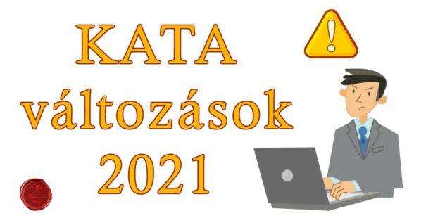 KATA és számla-adatszolgátatás változásai 2021-től