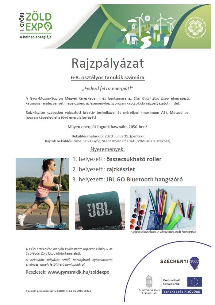 Első Győri Zöld Expo – rajzpályázat