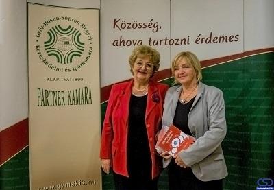 Görög Ibolya tartott emlékezetes előadást a Kamarai Szalon szeptemberi eseményén