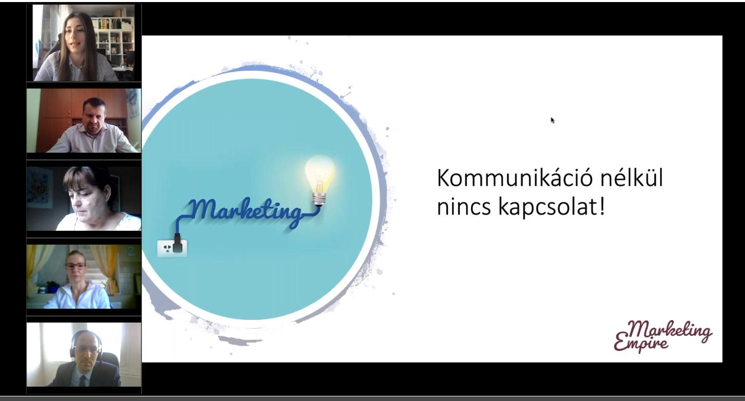 Kamara a vállalkozásokért tantárgy előadás – 2021.03.29.