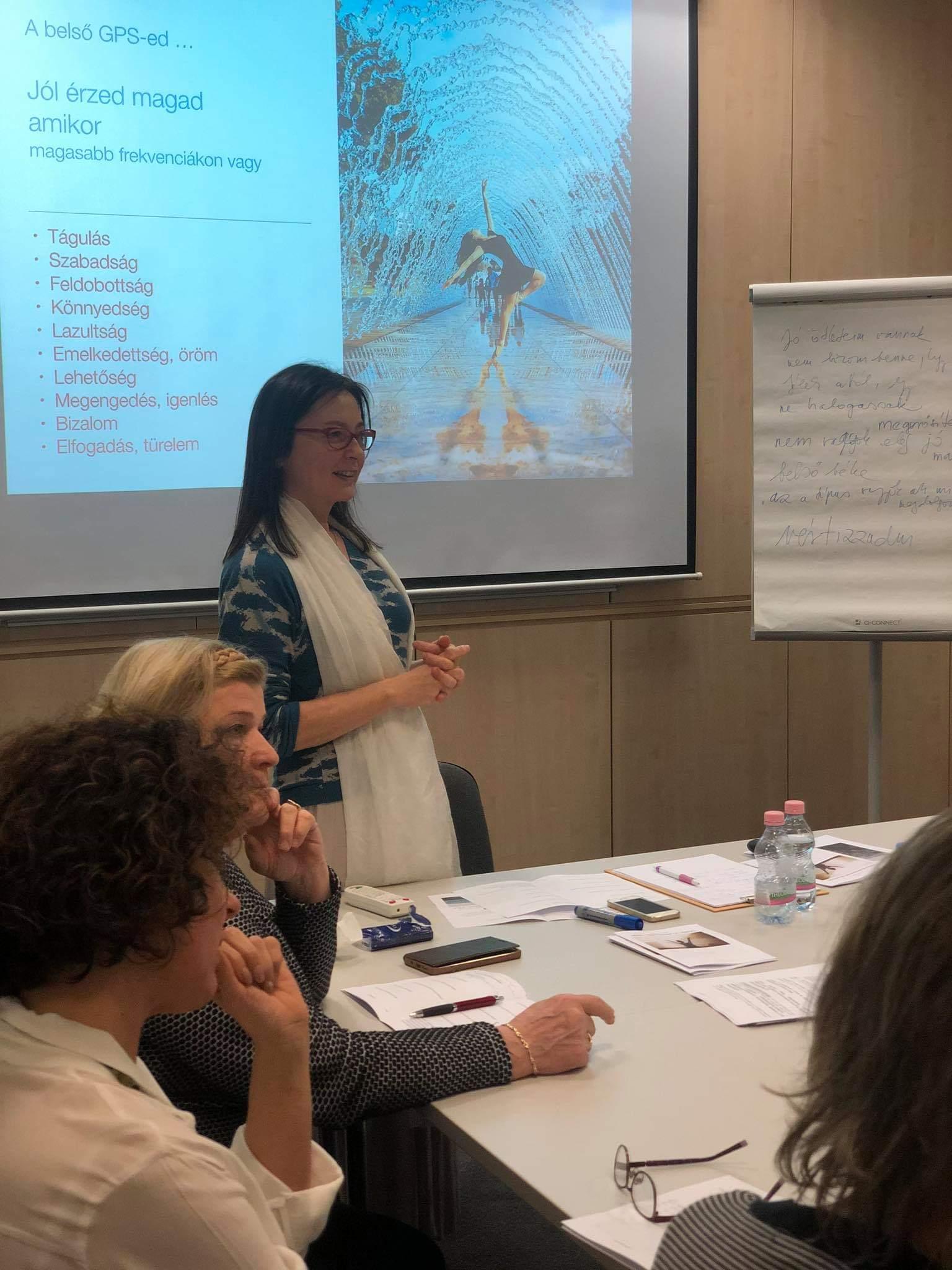 Group Coachingon vettek részt a Női Vállalkozói Klub tagjai