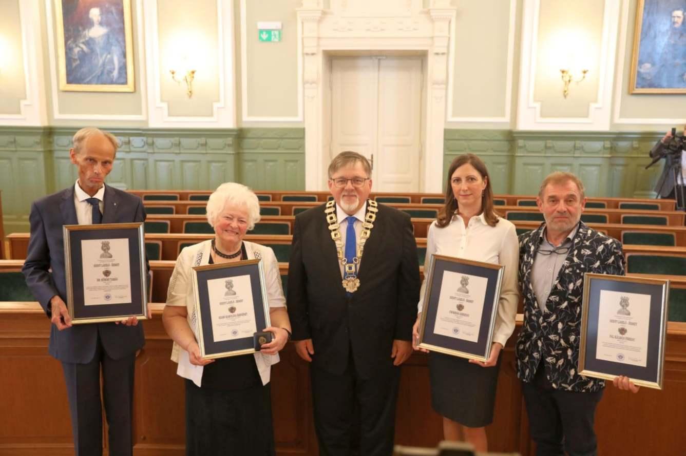 Szent László - díjat kapott kézműves vállalkozónk